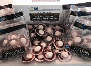 Scallops Packaging